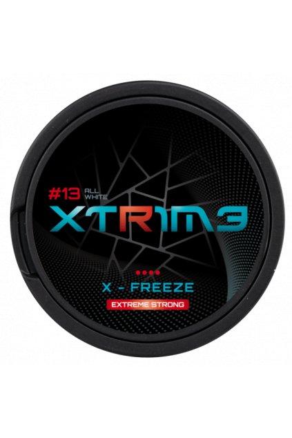 xtrime x freeze nikotinove sacky nicopods