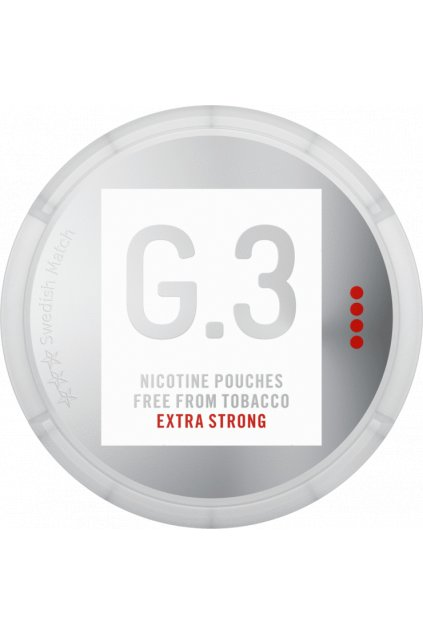 g.3 extra strong nikotinove sacky nicopods