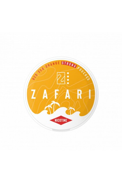zafari red sea orange strong nikotinove sacky