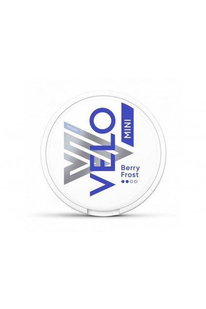 velo berry frost mini nikotinove sacky
