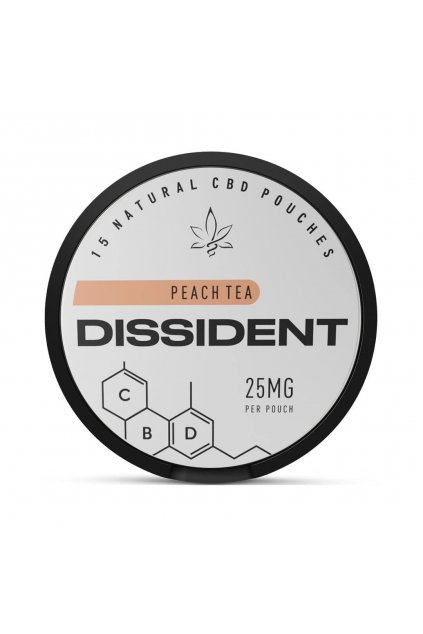Dissident CBD PEACH TEA sacky s obsahem CBD