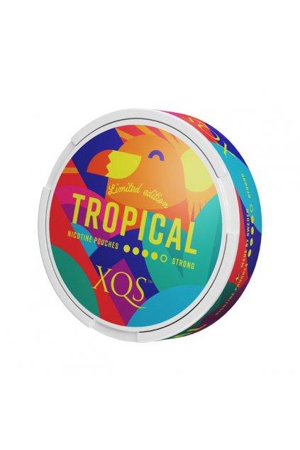 xqs tropical limitovana edice nikotinove sacky