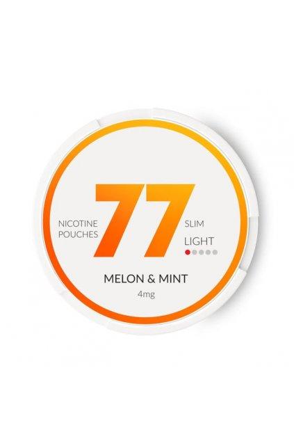 77 melon mint nikotinove sacky nicopods