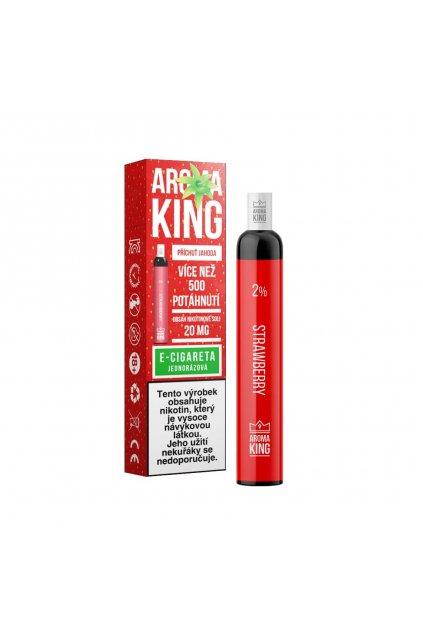 AromaKing 500 Strawberry E cigareta min min