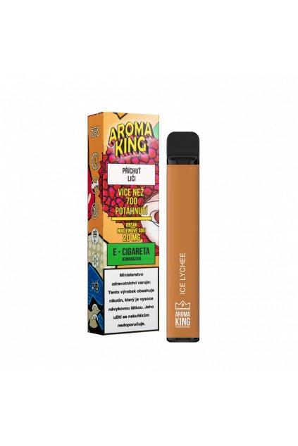 Aroma King jednorazova e cigareta lychee cosmic 700 potahnuti min