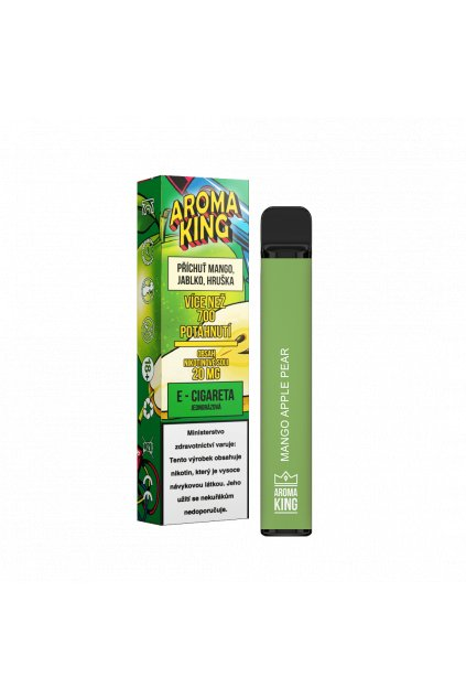 Aroma King jednorazova e cigareta mango apple pear cosmic 700 potahnuti min