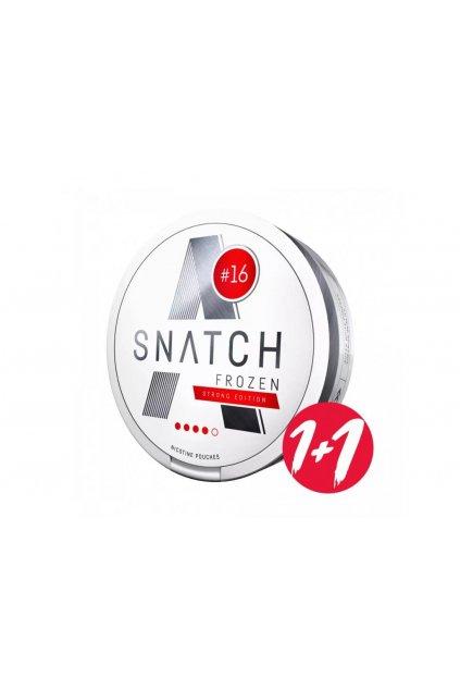 snatch nikotinove sacky frozen strong edition