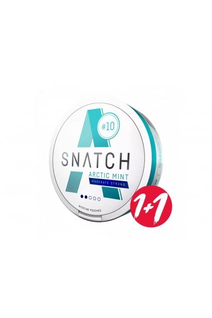 snatch nikotinove sacky arctic mint moderate strong