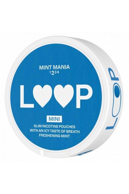 Nikotinove sacky loop mint mania mini