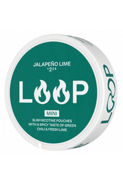 Nikotinove sacky loop jalapeno mini