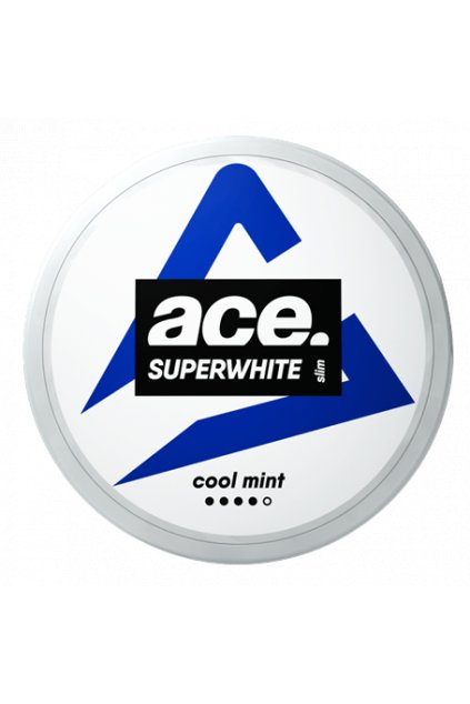 ace cool mint strong nikotinové sáčky nordiction