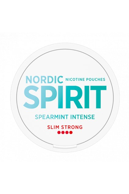 nordic spirit spearmint strong nordiction nikotinové sáčky