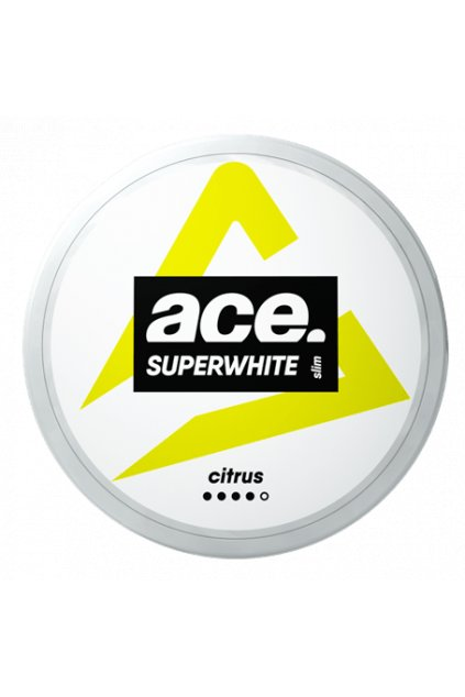ace superwhite citrus nikotinove sacky nordiction