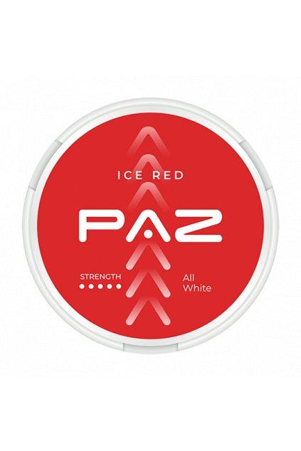 paz ice red nikotinove sacky nikotin