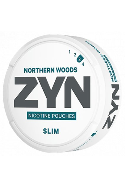 zyn northern woods slim strong nikotinové sáčky nordiction