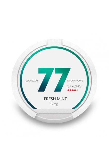 77 fresh mint 12mg nikotinove sacky nicopods