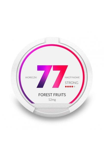 77 forest fruits 12mg nikotinove sacky nicopods