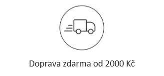Doprava zdarma nad 2.000 Kč