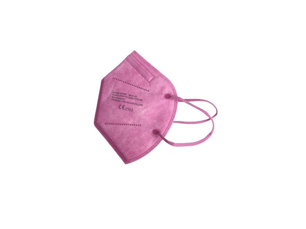 """Růžový respirátor """"Barbeador"""" 1 ks"""