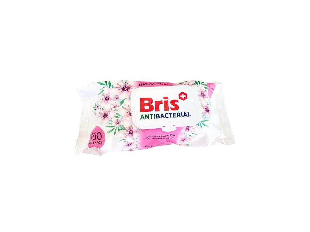 3348 antibakterialni ubrousky bris pink 100 ks