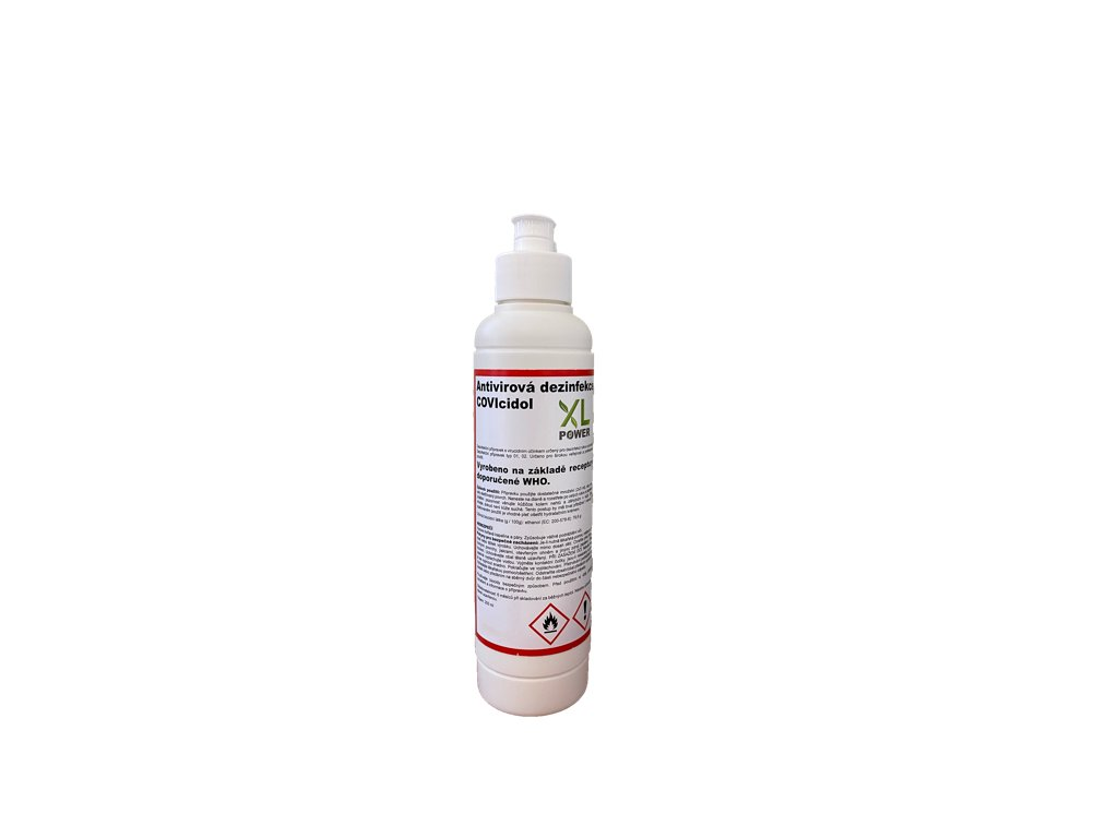 Dezinfekce Antivirová - COVIcidol 250ml