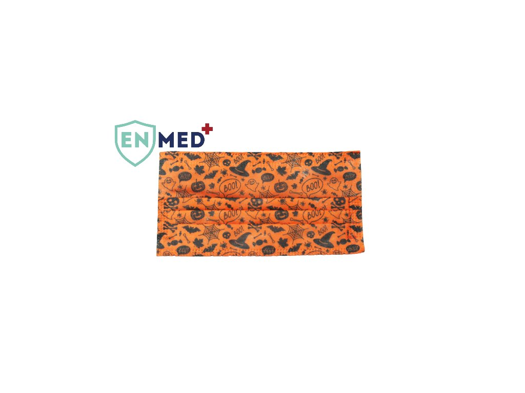 ENMED® Designová hygienická rouška 25 Halloween 10 ks
