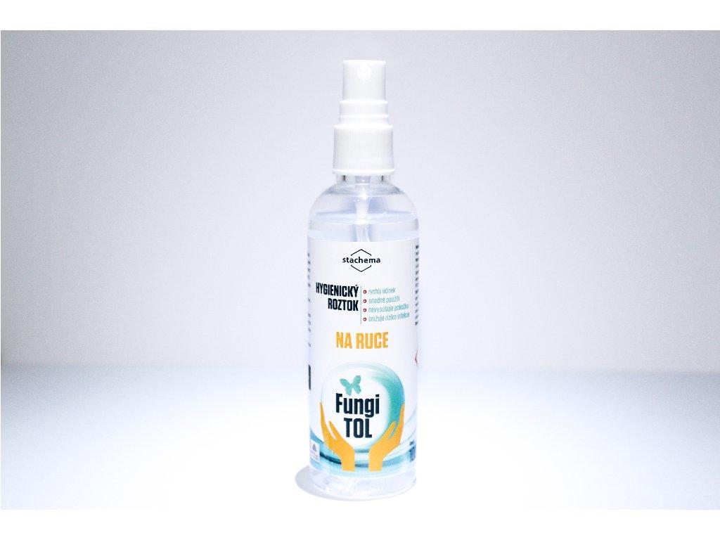 Hygienický roztok na ruce s dávkovačem - 100 ml