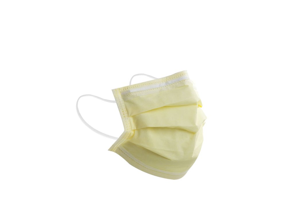 Isolation Disposable Non Woven 3 Ply Face Mask with Earloop PP25 25 25 Soft Breathable Fabric