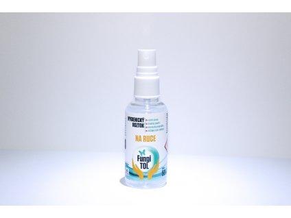 Hygienický roztok na ruce s dávkovačem - 50 ml