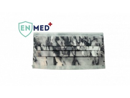 ENMED® Designová hygienická rouška 23 Smoke 10 ks