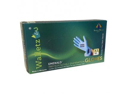WALLETZ4U Nitrile Exam Gloves