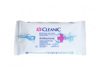 Antibakteriální vlhčené ubrousky 15ks