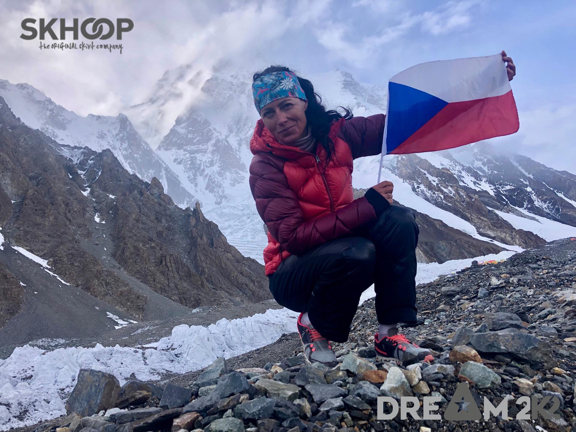 Naše ambasadorka Klára Kolouchová a její DREAM2K2