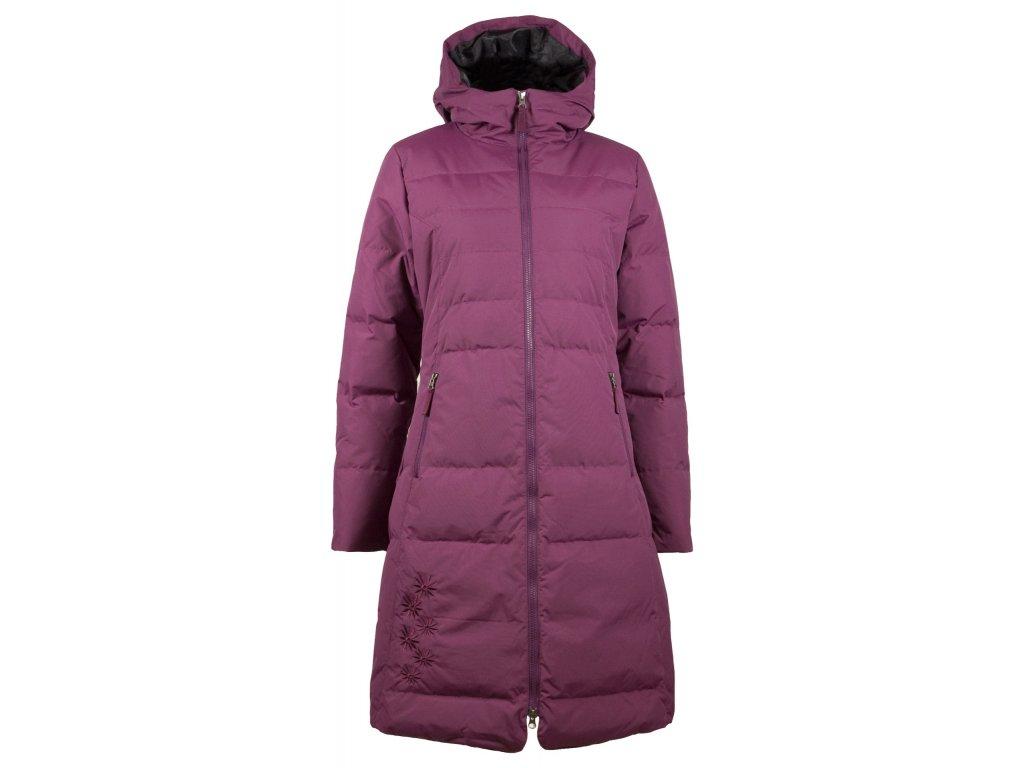 Péřové zimní kabáty