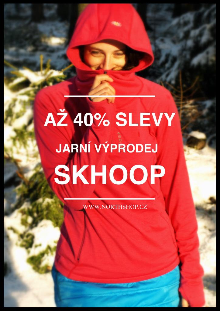 SKHOOP northshop - jarní sleva až 40%!
