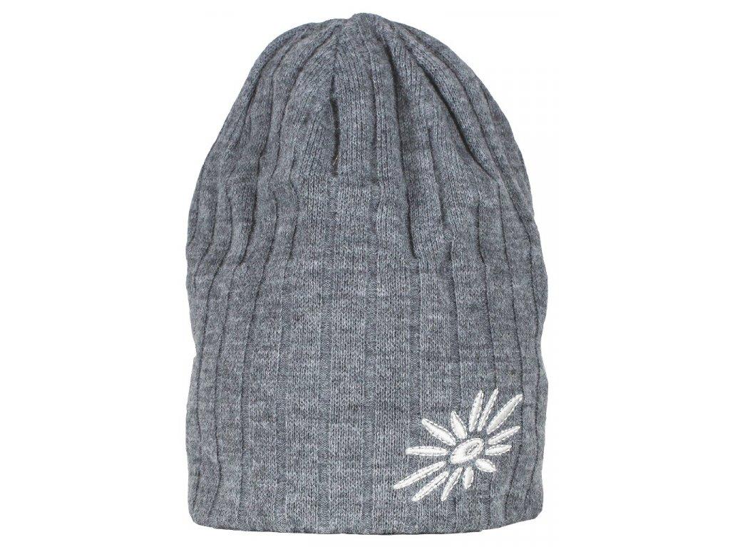 Zimní čepice Original SKHOOP  - šedá