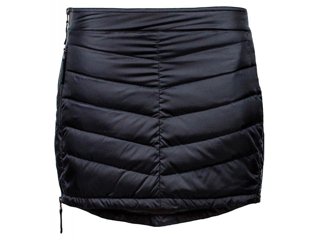 Prošívaná zimní péřová sukně Down Mini SKHOOP - černá