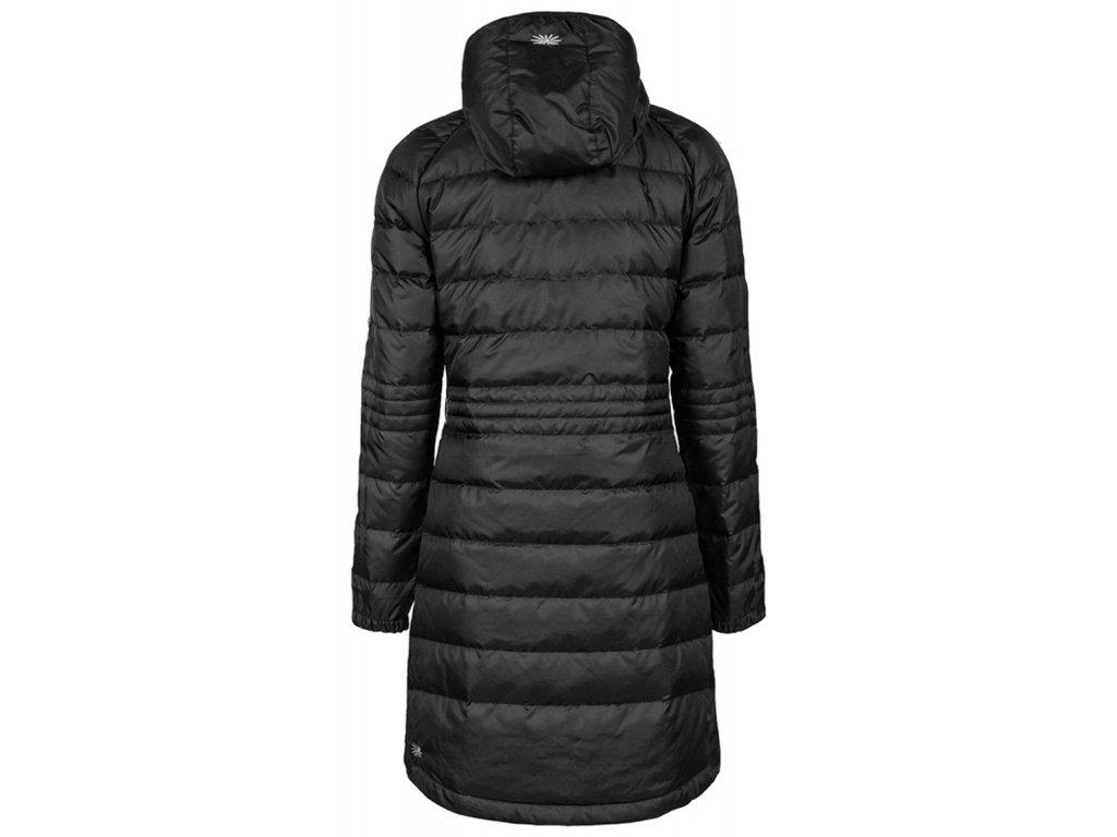 88904adeee Dámský péřový kabát Long Down Hoodie SKHOOP - black - NORTH SHOP