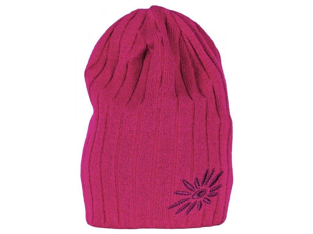 Zimní čepice Original SKHOOP - červená řepa