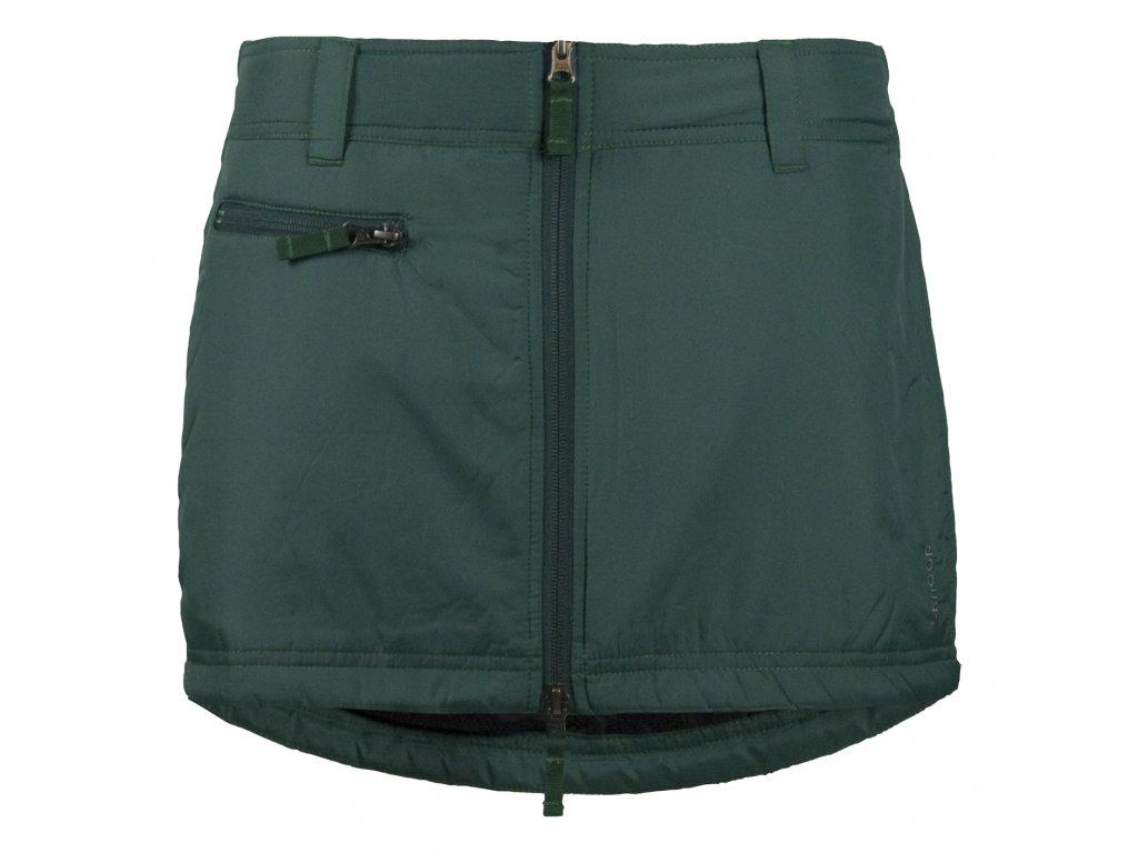 Zimní mini sukně Mini SKHOOP - forest green