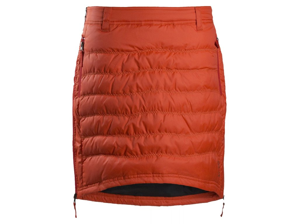 0604973c672 Zimní sukně péřová Short Down SKHOOP - spicy orange - NORTH SHOP
