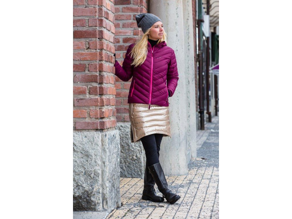 e736c1dd0e6 Zimní sukně péřová Short Down SKHOOP - champagne - NORTH SHOP