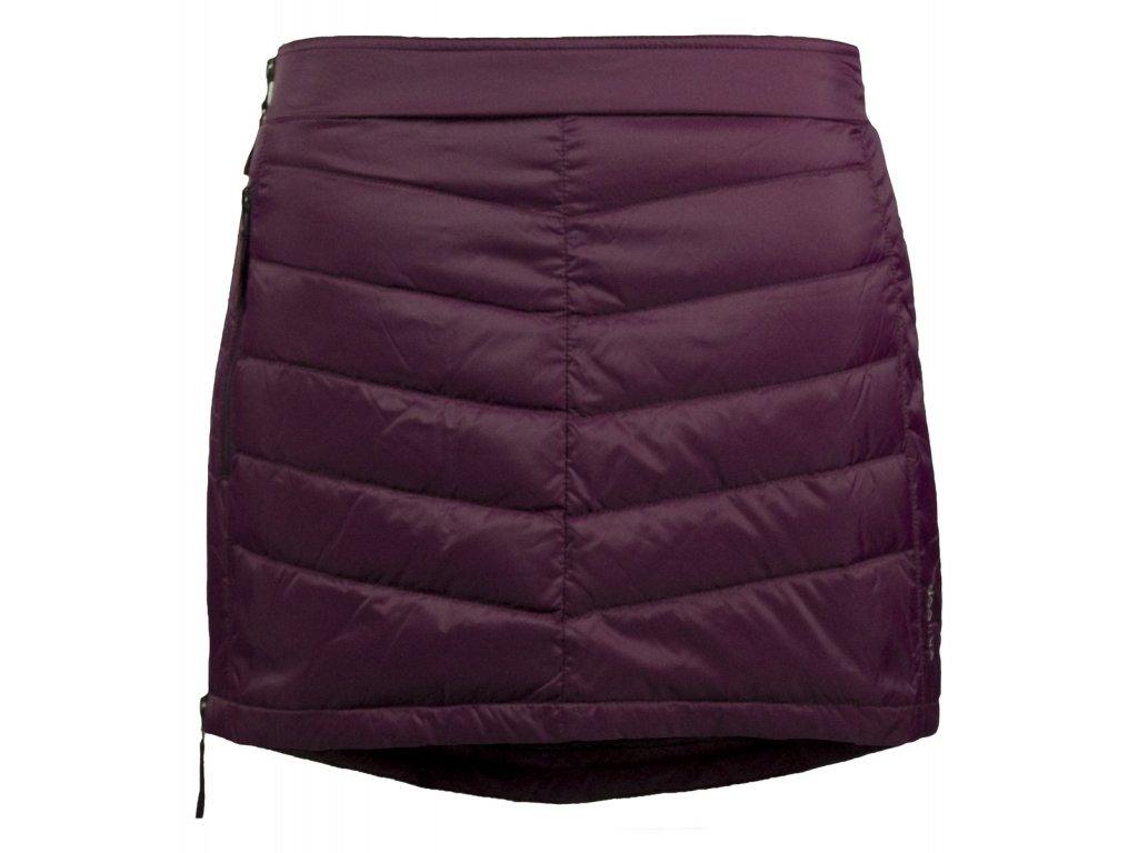 ee0327041f7 Prošívaná zimní péřová sukně Down Mini SKHOOP - bordeaux