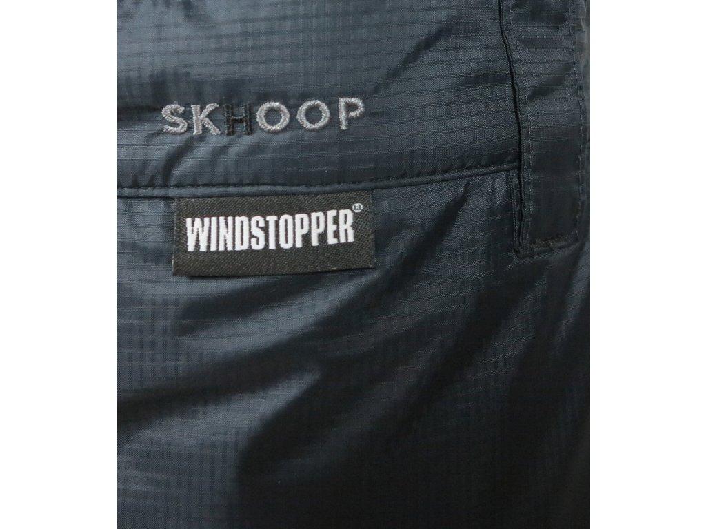 5e4cbe2729d Unisexová zimní WINDSTOPPER® sukně Rider SKHOOP - černá - NORTH SHOP