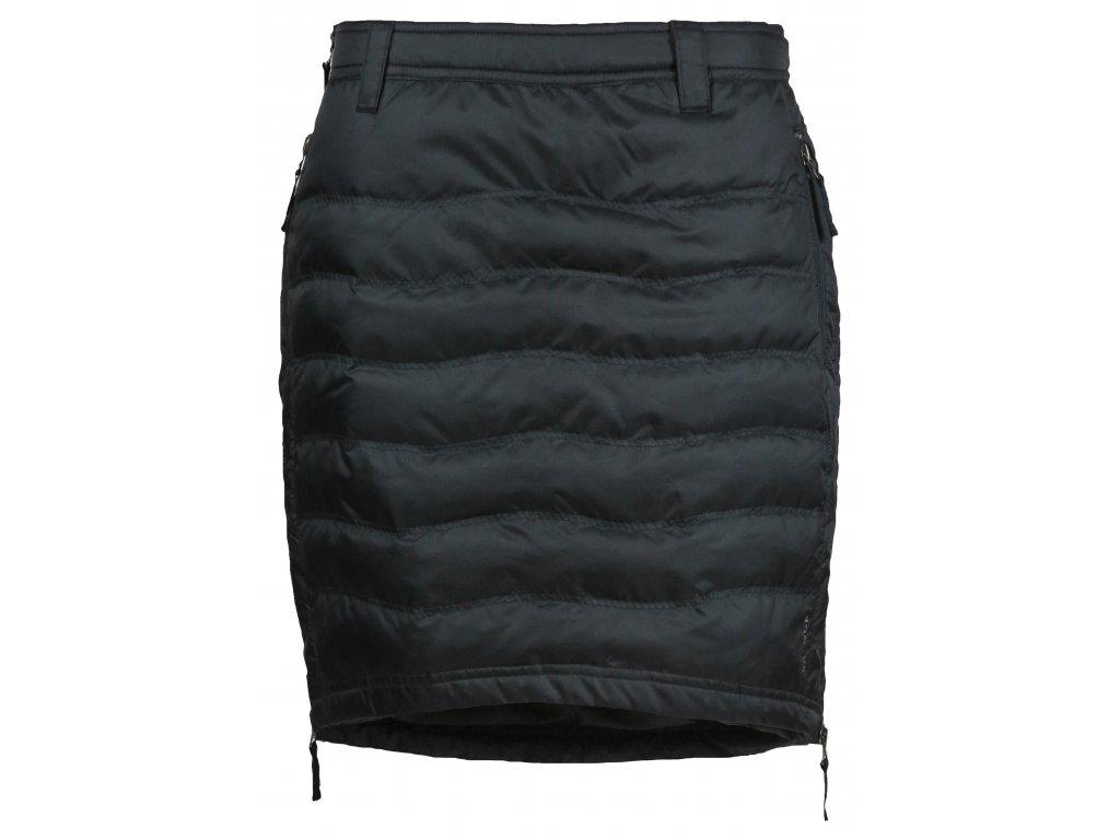 Zimní sukně péřová Short Down SKHOOP - černá