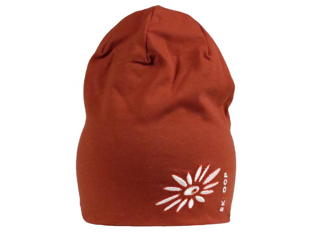 Funkční čepice Jersey Beanie SKHOOP - mandarinka