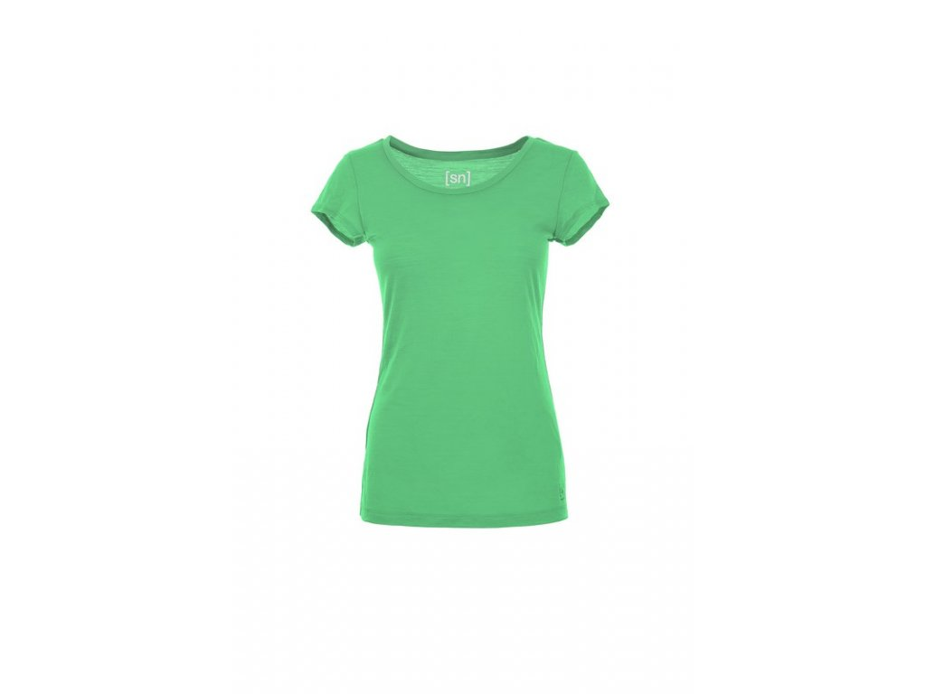 Dámské triko Basic Tee 140 [sn] - poison green