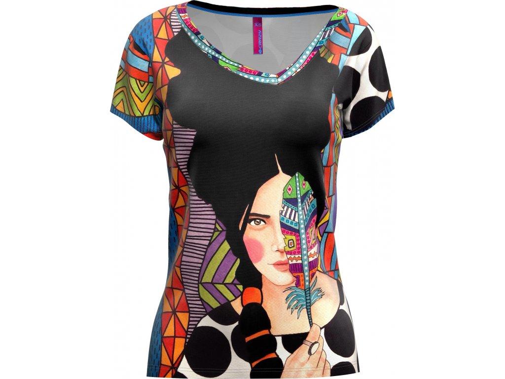 S20095027D 00 T Shirt Shade Woman X045 HulyaPlume