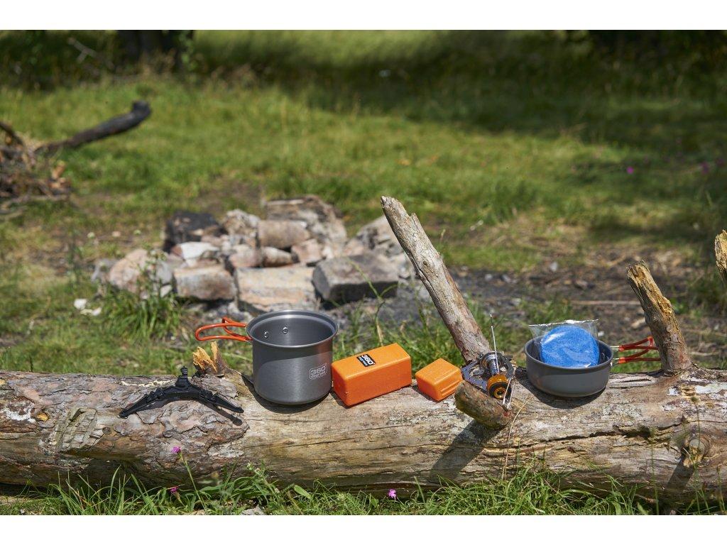 Cestovní set nádobí s vařičem Pot set & Furno Stove 360° Degrees