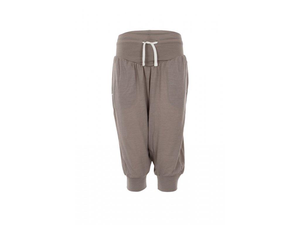 Dámské krátké Hareem kalhoty 175 [sn] - vintage khaki